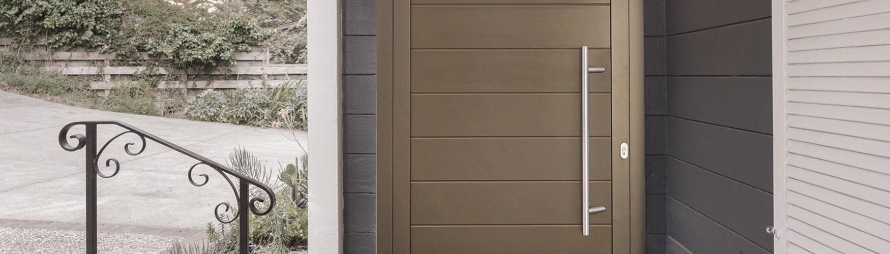 Aluminium Entry Doors