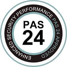 PAS 24 Badge