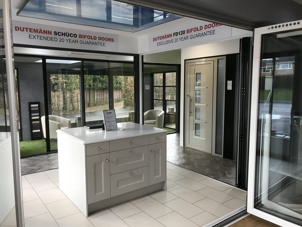SDB Aluminium Glazing Interior Showroom